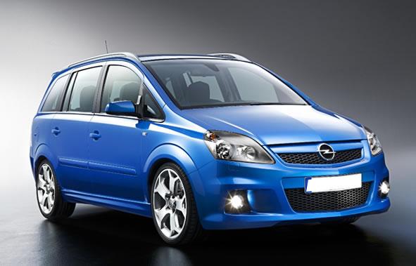 Opel Zafira 7 seats